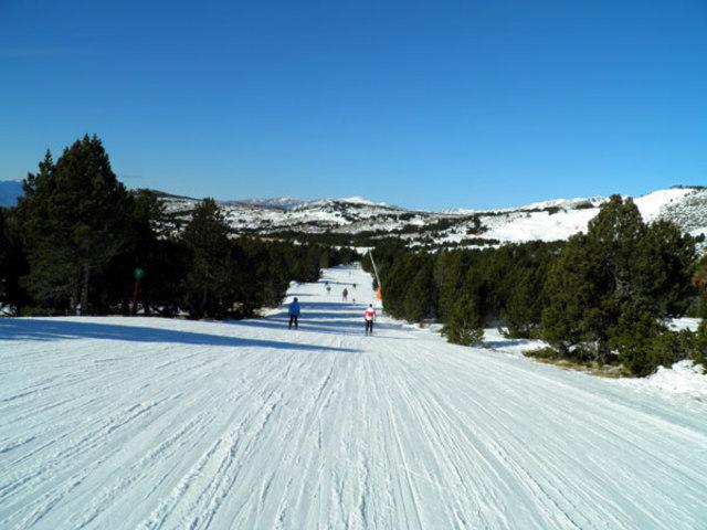 La meva primera pista negre d'esquí baixada