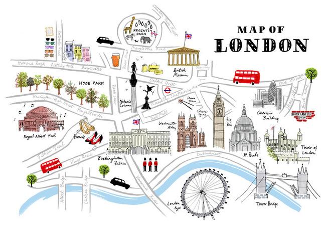1r viatge a Londres