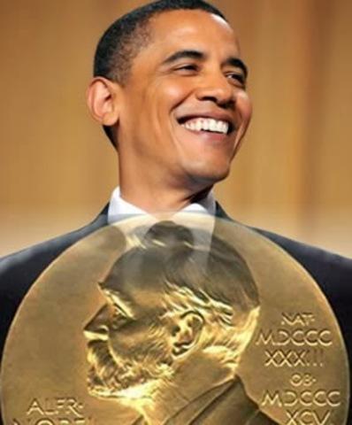 Entega del Premi Nobel de la Pau a Barack Obama