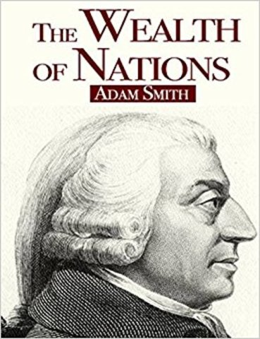 Smith published The Wealth of Nations