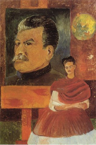 """Autorretrato """"con Stalin"""" 47"""