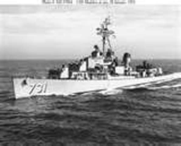 U.S.S. Maddox Attacked