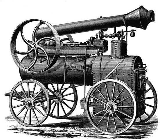 The Steam Engine is Invented