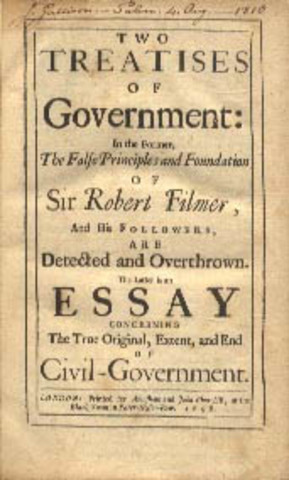 The Two treatises on Government
