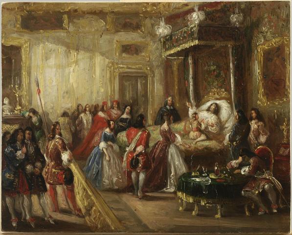 Death of King Louis XIV