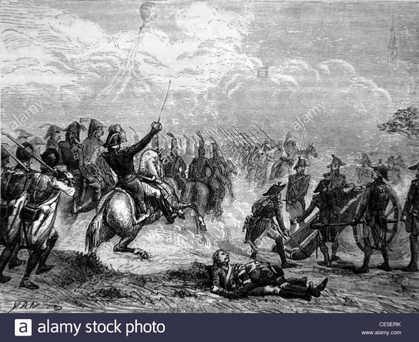 French Victory Over Austrians at Fleurus (Belgium)