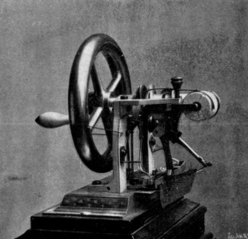 Elisha Otis Invents the Sewing Machine
