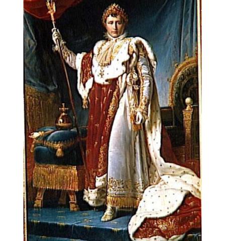 Napoleon proclaimed himself emperor
