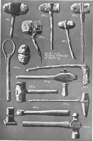 La cabeza del martillo