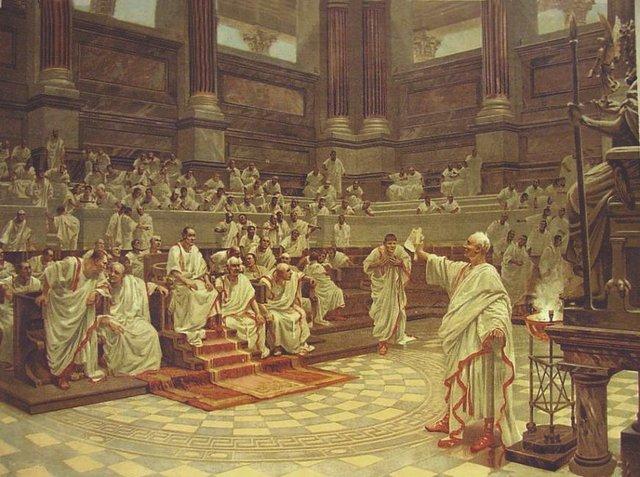 Revelación del pueblo Romano.