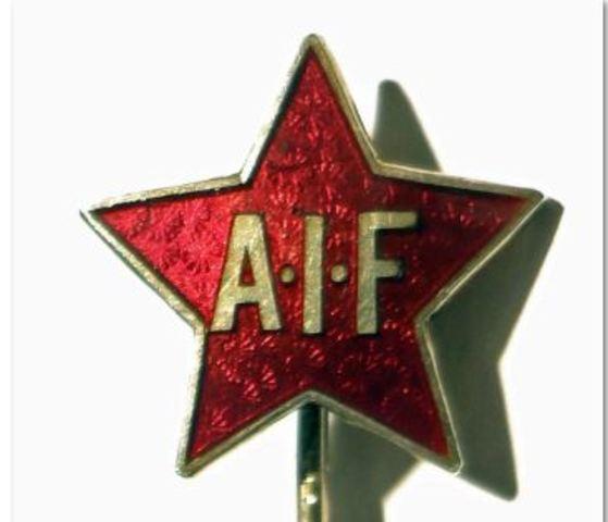 """AIF - """"ikkje trellkår, men frie menn"""""""