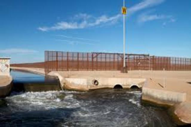 Arrives @ Morelos Dam