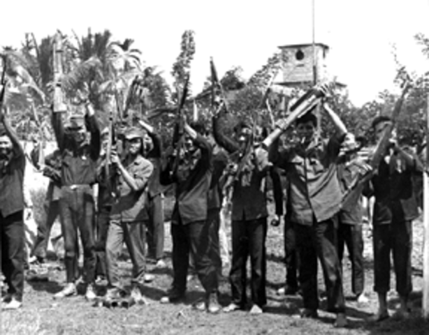 South Vietnam Defeated in Battle