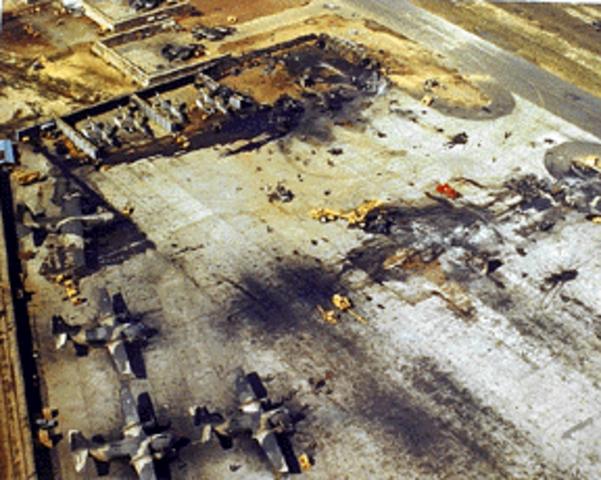 US Heli Base Attacked