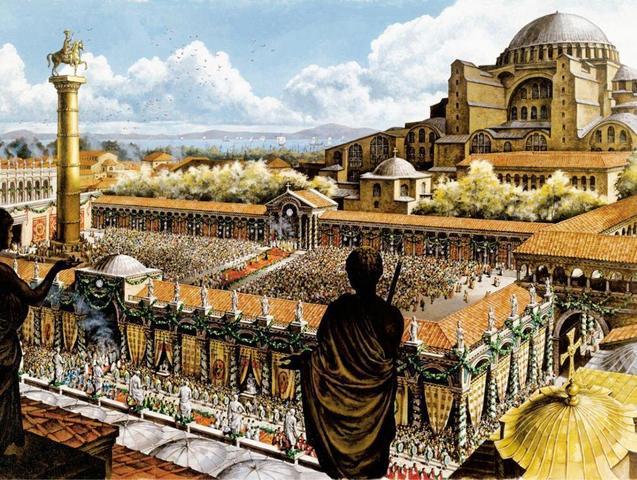 Constantinoble - Nova capital imperial