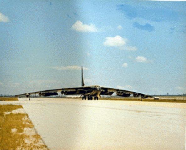 First B-52 Raids