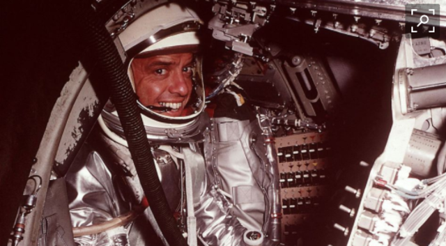Alan Shepard makes it into space