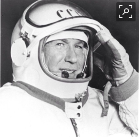Alexey Leonov became the first astronaut to go on a 'spacewalk'