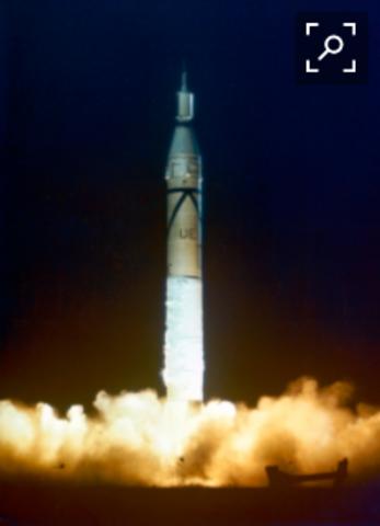 Explorer 1 makes it into space