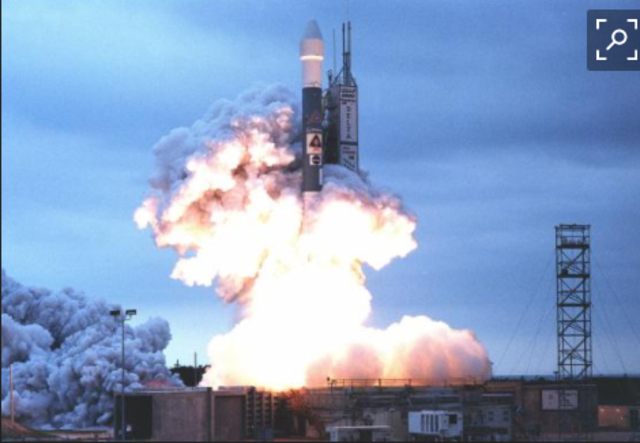 Mars Lander launched