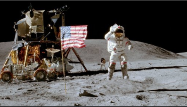First American spacecraft lands on the moon