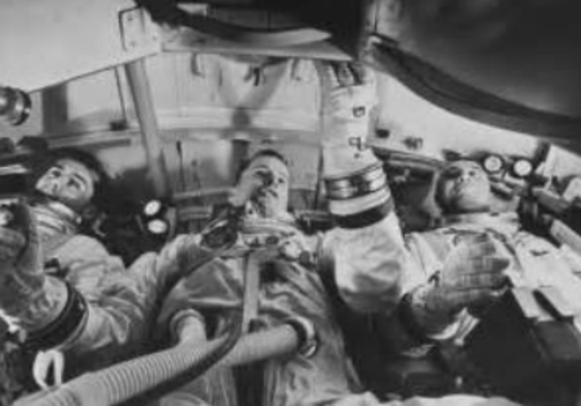 Accidental launch pad deaths of Grissom, White, and Chaffee