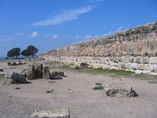 Desembarco romano en Ampurias