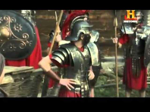 1ºer encuentro entre Bárbaros y Romanos.