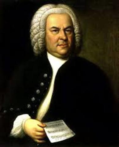 Johann Sebastian Bach 1680-1750. Fin del Barroco.