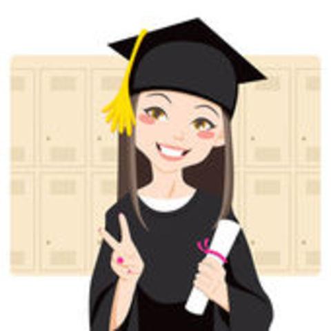 Me gradué del Bachiller