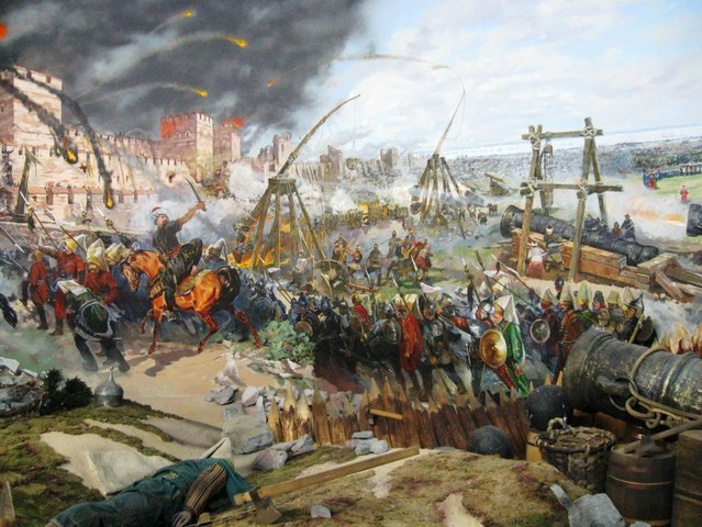 Caída del Imperio Romano de Oriente.