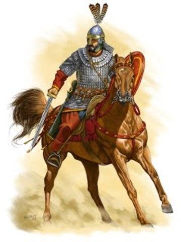Comienza la Reconquista Bizantina.