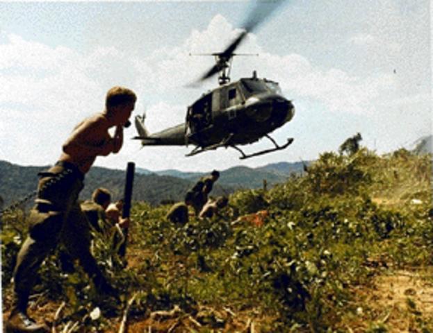 Viet Cong Repelled at Loc Ninh