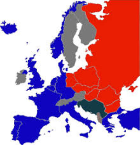 Jernteppet (Iron Curtain) begrepet innført
