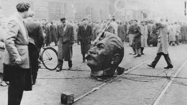 Den ungarske revolusjonen ble slått ned