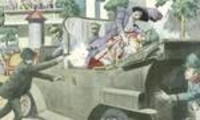 La mort de Francesco Ferdinando