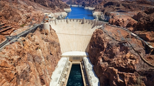 1935 - Hoover Dam, the World's Largest Hydroelectric Power Plant, Is Built