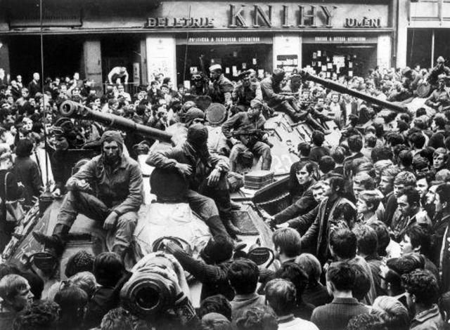 Kommunistene tok over makten i Tsjekkoslovakia