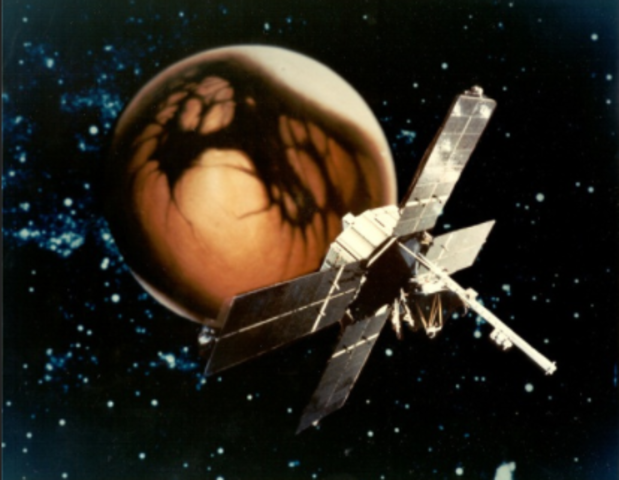 Mariner 4 became the first probe to take pictures of Mars