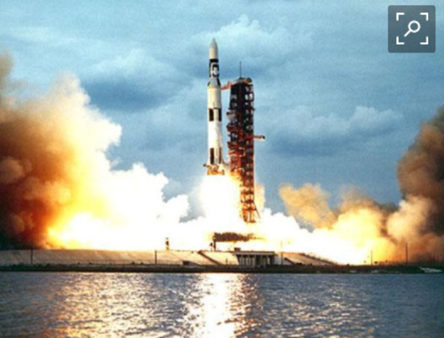Skylab space station launched