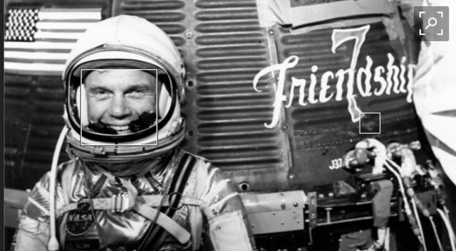 John Glenn is the first American in orbit