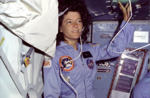 Sally Ride is first American woman in space