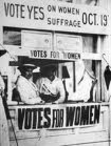 Woman Suffrage Amendment Introduced