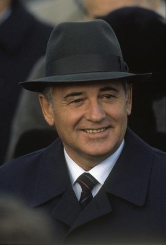 Gorbatsjov, statsleder i Sovjetunionen
