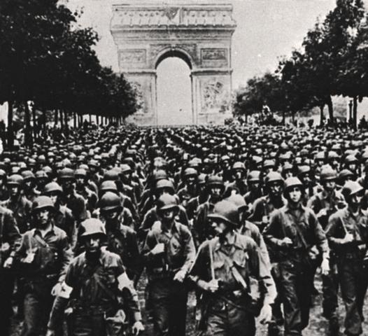 Enden av andre verdenskrig