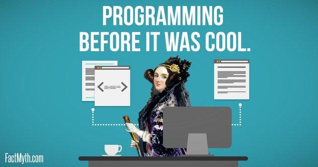 Женщина - программист