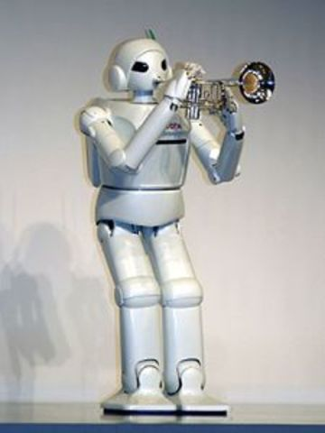 Робот-трубач от компании Toyota