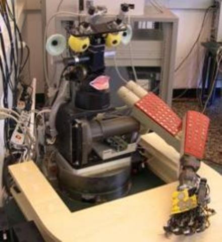 Новый робот обучается подобно ребёнку
