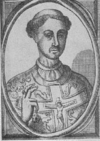 Pope Paschal becomes Pope