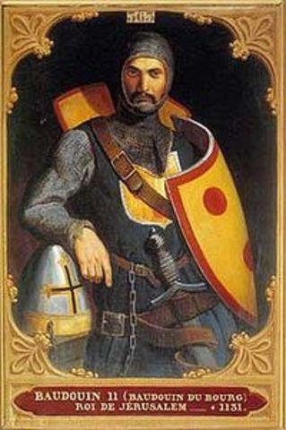 Baldwin II becomes King of Jerusalem